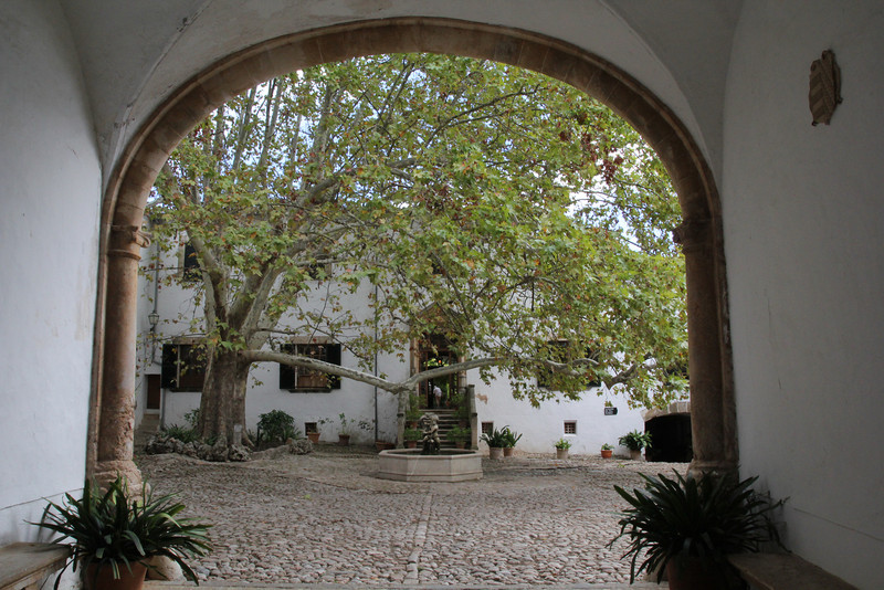 Jardines de Alfabia.<br /> For more pictures go to ROCK GARDEN / OTHER GARDENS on this site.