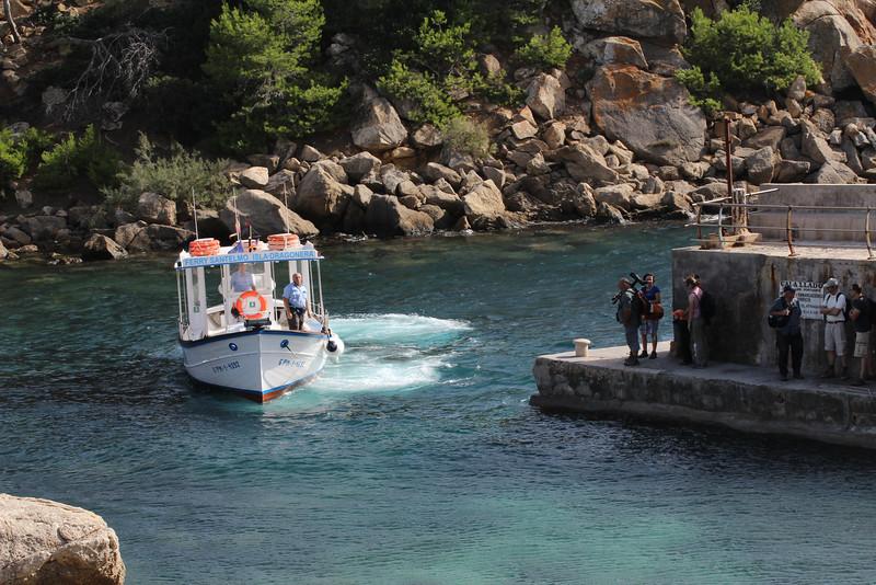 Ferry to the Island, Parc Naturel de sa Dragonera,
