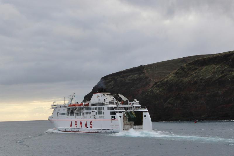 Ferry La Palma - La Gomera v.v.