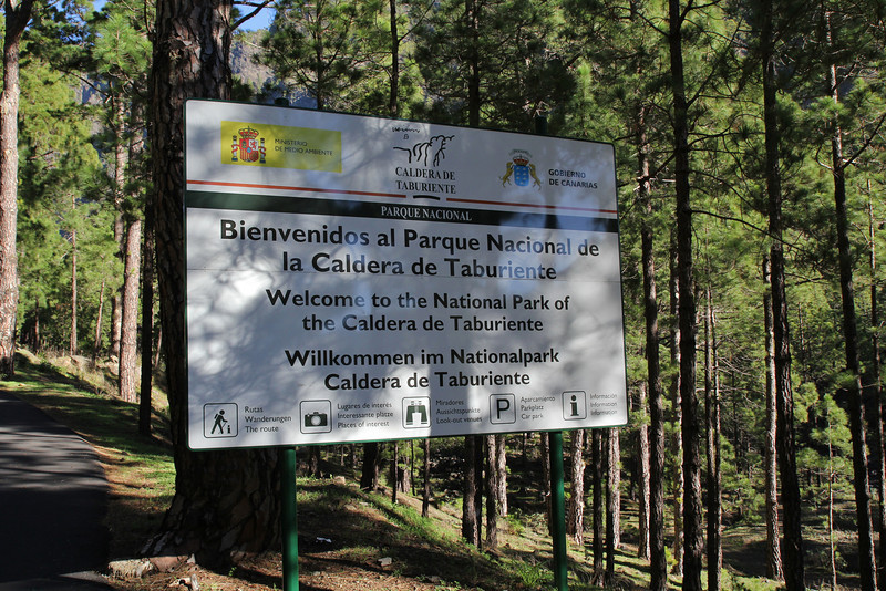 La Cumbrecita 1287m, SE of Parque Nacional de la Caldera de Taburiente