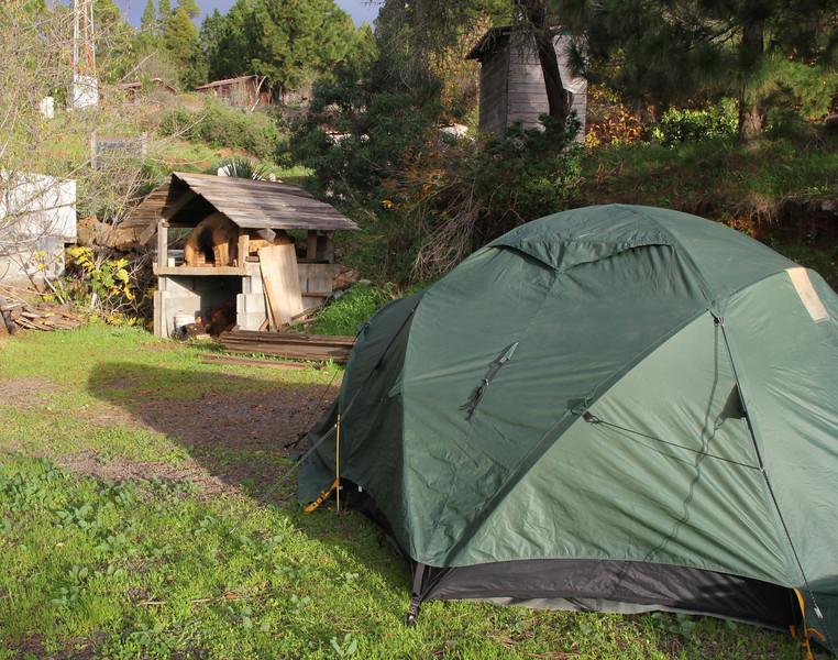 Camp Los Rosas 960m, Puntagorda