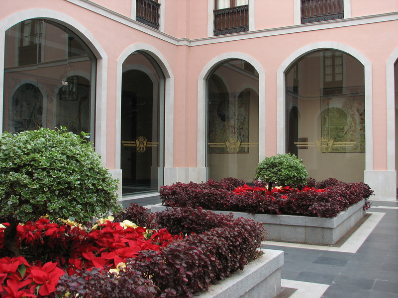old buildings and gardens (La Orotava Tenerife)
