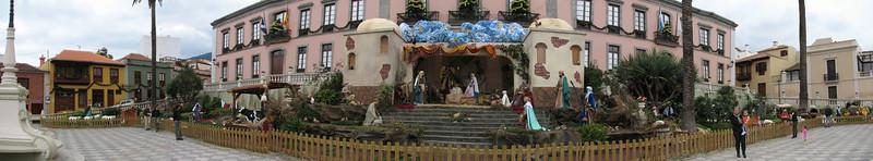 kerststal  La Orotava (noordkust Tenerife)