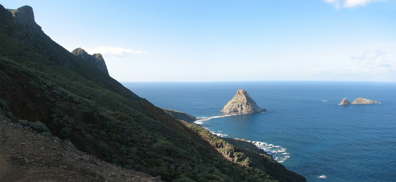 coast Anaga East Tenerife (Atlantic ocean)