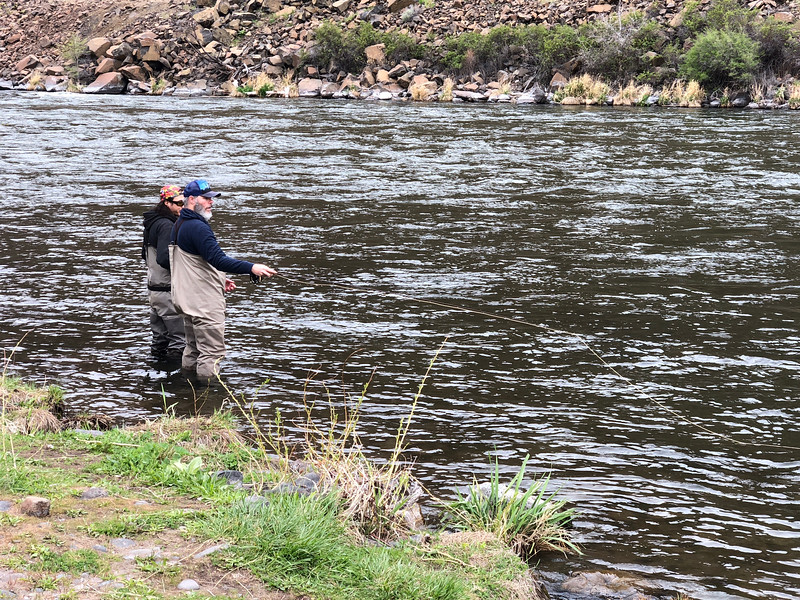 Fly Fishing the Deschutes 4-15-18 5