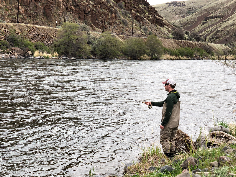 Fly Fishing the Deschutes 4-15-18 8