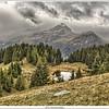 Another view over Alp Flix, Switzerland
