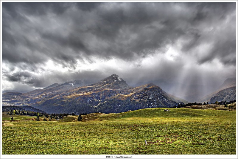 """A view from Alp Flix to the south-west  <a href=""""http://goo.gl/maps/gAiKz"""">http://goo.gl/maps/gAiKz</a>) * handheld 3-shots HDR"""