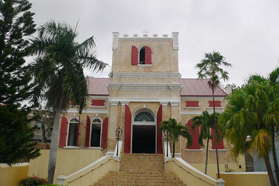 This is an old church in Charlotte Amalie