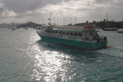 This is one of the Ferry Boats... This one was probably headed for the British Islands.
