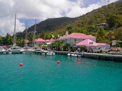 A view of the West End of Tortola.