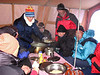 Diner (22/23/24/25 okt.   Kamp 3  Everest ABC camp,   6350m.)