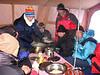 Diner (22/23/24/25 okt.   Kamp 3  Everest ABC camp,   6350m.)