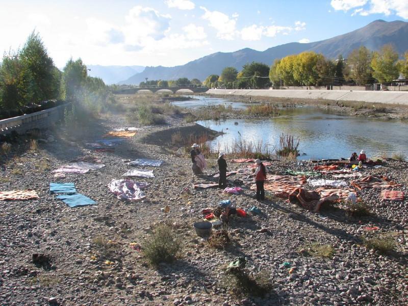 Laundry near Lhasa