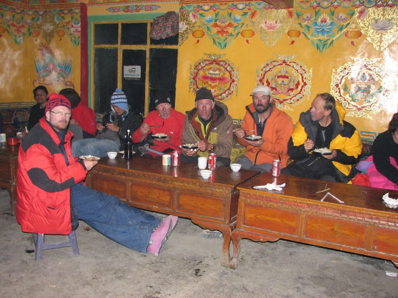 back in the Rongbuk monastery 5160m (Tibet)