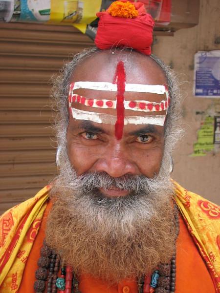 Hindu asceet (Kathmandu)
