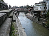 the holy Bagmati river with the Pashupati-nath temple