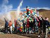 """""""Punja"""" ceremony for good luck (Pang-La 5254m)"""