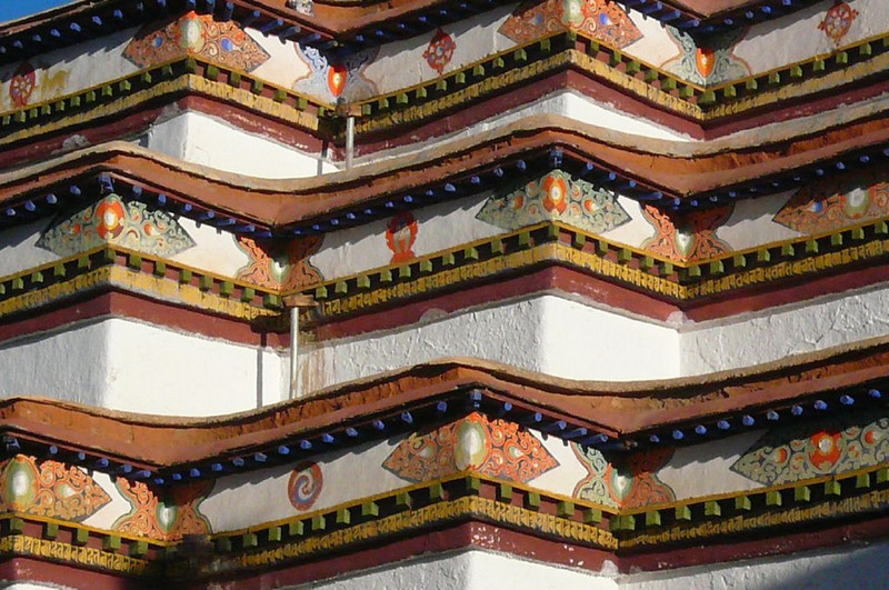 detail Tashihunpo monastery (Shigatse)