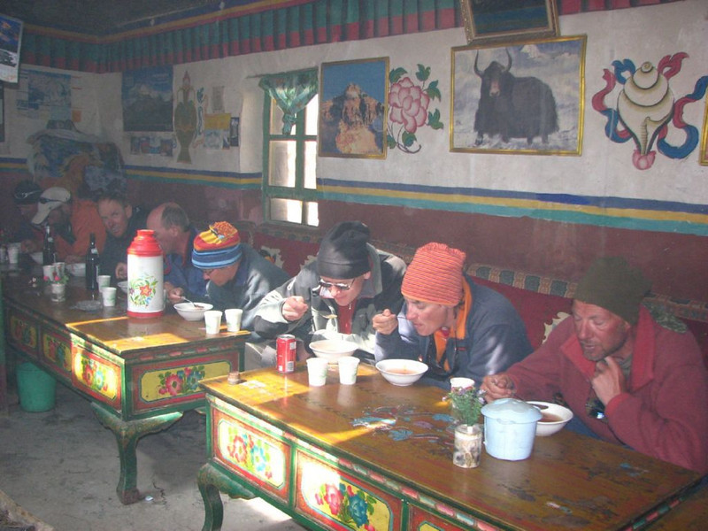 Lunch/Diner (Tingri, Tibetian plateau >4000m)