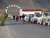 Entrance Qomolangma National Park (Tibet)