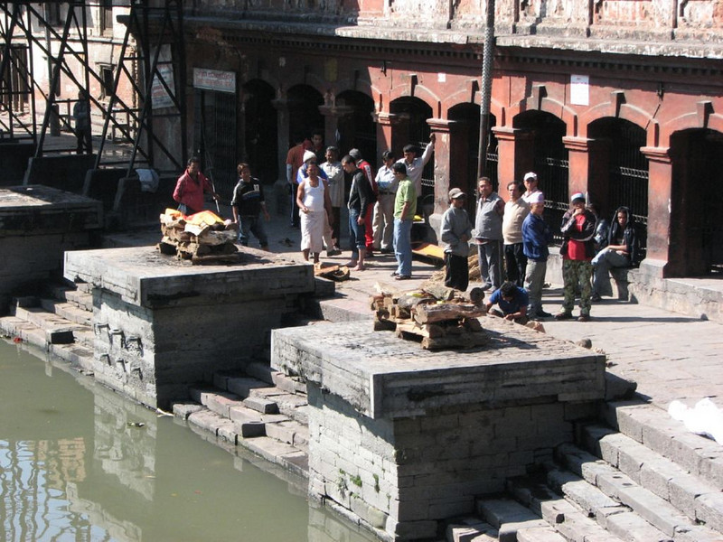 corpse cremation (the holy Bagmati river )