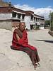 buddhistic monk (Zhashenlunbuk monastery)