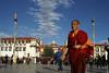 square Jokhang temple (Lhasa, Tibet)
