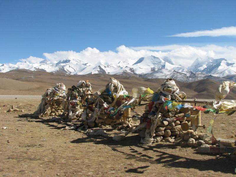 prayer flags (Tibetian plateau >4000m)