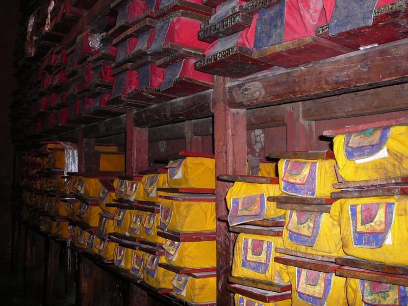 monastery books (Tashihunpo monastery)