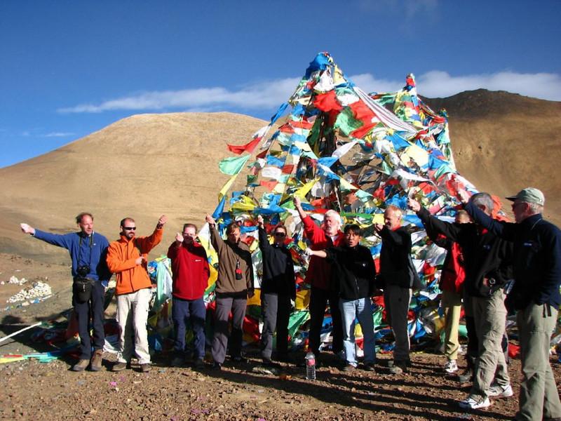 """""""Punja"""" ceremony, good fortune (Pang-La 5254m)"""