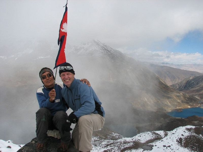 summit 4200m. near Shao-La (Kangchungtrek)