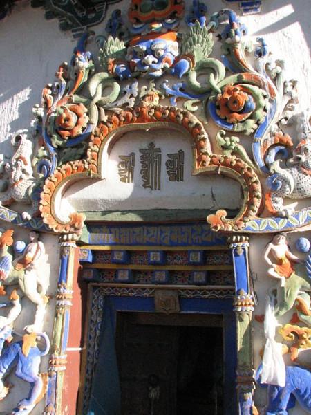 entrance small temple (Shigatse)