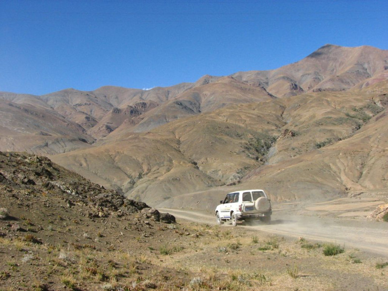 jeeptour (Lhasa - Gyangtse)