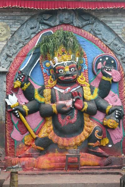 Kala Bhairava, an incarnation of Shiva