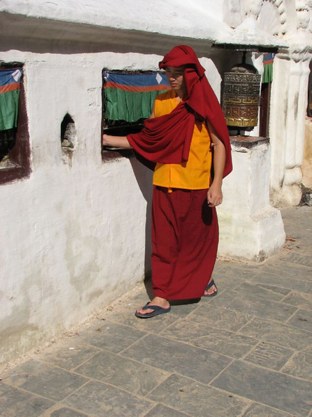 prayer wheel (Kathmandu)