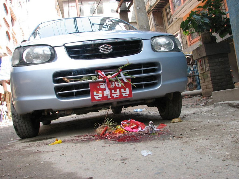 car-blessing (Kathmandu)