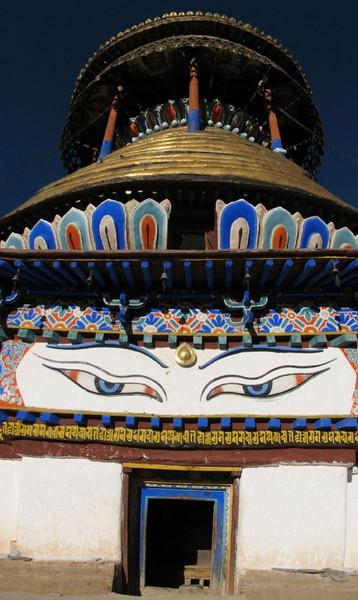 top of the roof (Tashihunpo monastery)