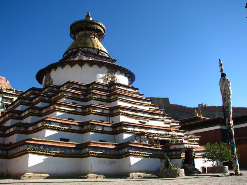 Tashihunpo monastery (Shigatse)