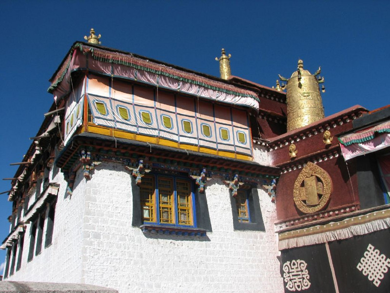 Jokhang temple (Lhasa, Tibet)