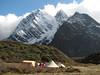 10/11 okt.  Kamp3   Djaksim campsite  4053m. (Kangchungtrek)