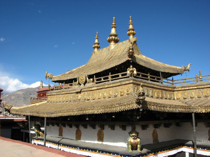 Potala Palace (golden roof)