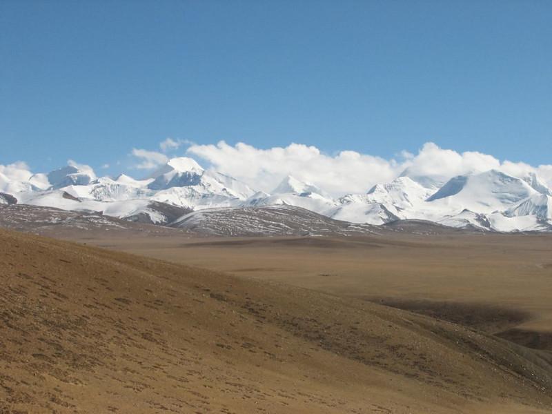 Tibetian plateau >4000m