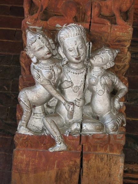 Pashupati-nath temple (erotic figures)