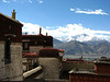 roof view, Monastery, Drepung