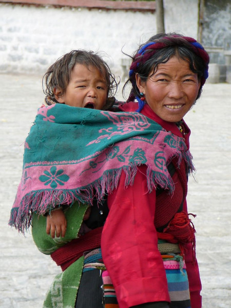 mother and child (Lhasa)