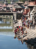 the holy Bagmati river with the Pashupati-nath temple (Kathmandu)