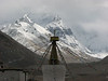 Rongbuk monastery 4880m. and Everest 8845m. (Tibet2006 site trips_380a)
