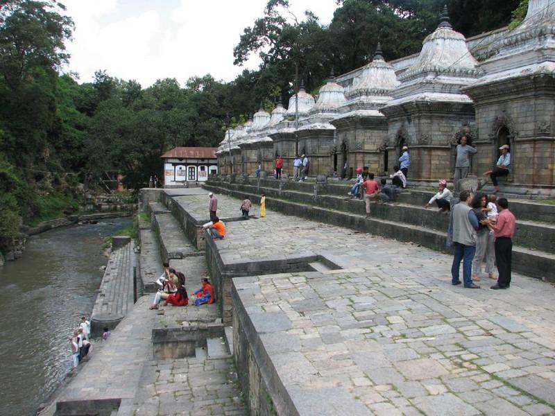 the holy Bagmati river  (Kathmandu)