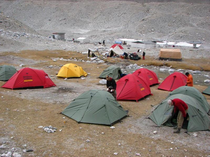 18/19 okt.   Mount Everest basis camp   5160m.